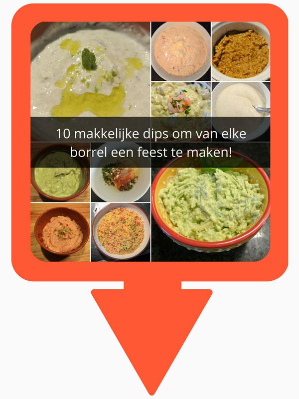 10 makkelijke dips om van elke borrel een feest te maken!