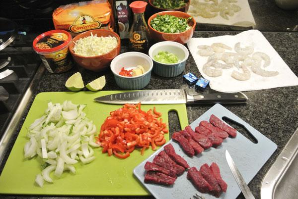 noedelsoep-biefstuk-garnalen