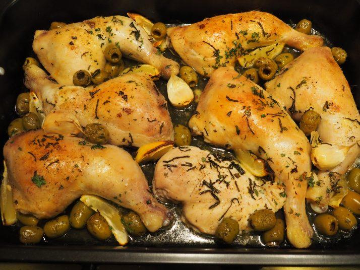 gegrilde kippenbouten uit de oven