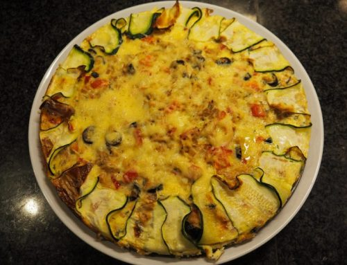 Tonijn-courgette quiche