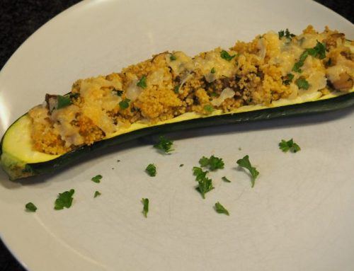 Courgette-couscous boot
